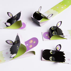 Five Pack Of Sheep Bookmarks