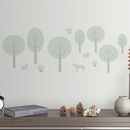 Children's Woods Wall Stickers