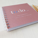 detail of textured board soft cover, binding & protective outer cover