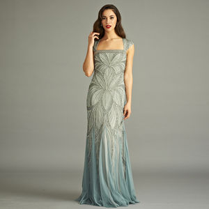 Bradi Sequin Embellished Maxi Dress - bridesmaid dresses