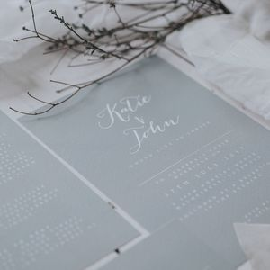 Timeless Wedding Invitation Set - wedding stationery