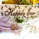 Personalised Happily Ever After Wedding Gift