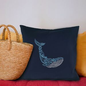Whale Cushion Beginners Embroidery Kit