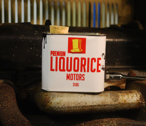 Liquorice Motors 'Dirty Tin'