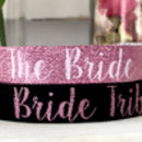 brides tribe rose gold hens party bracelets