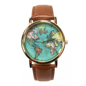 Agora World Map Watch - men's accessories