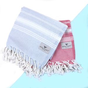 Traditional Hammam Towel Blue - women's swim & beachwear