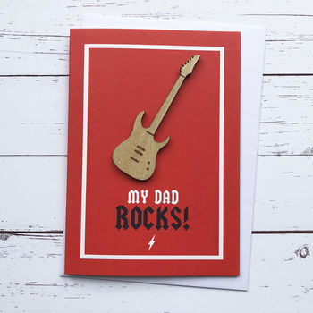 My Dad Rocks! Father's Day Card