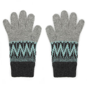 Knitted Lambswool Gloves - hats & gloves