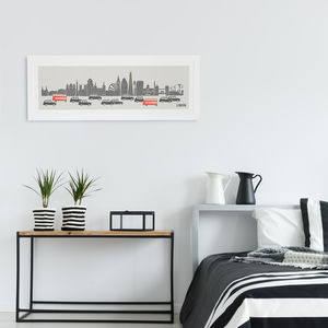 Panoramic London City Print - shop by recipient