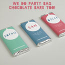 Personalised Cotton Party Bags
