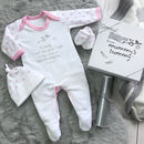 Dad To Be Gift Set, Stork Mail 'From Mummy's Tummy'