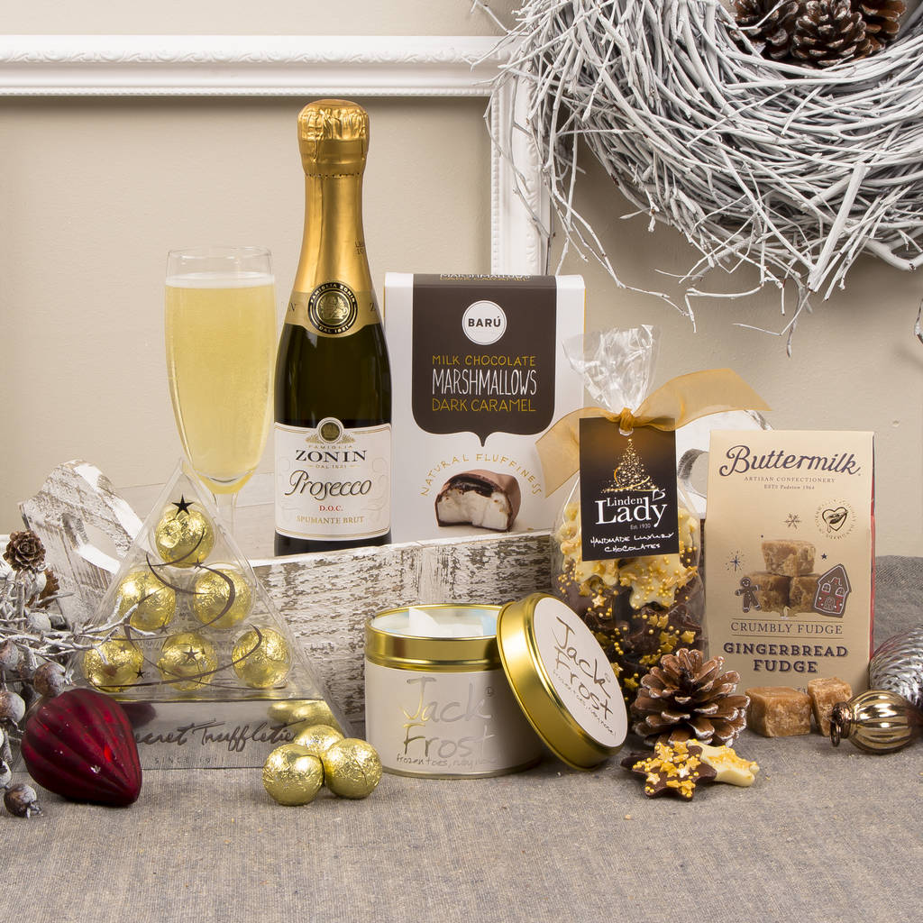 Prosecco Indulgence Christmas Gift Hamper