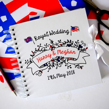 Royal Wedding Harry And Meghan Scrapbook