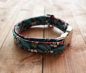 Edith Liberty Fabric Dog Collar