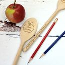 Thank You Teacher Personalised Spoon