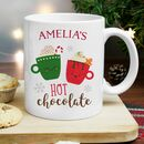 Personalised Christmas Eve Kids Hot Chocolate Mug