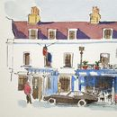 Dulwich Village London Limited Edition Giclee Print