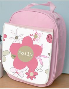 Personalised Girl's Lunch Bag Various Designs