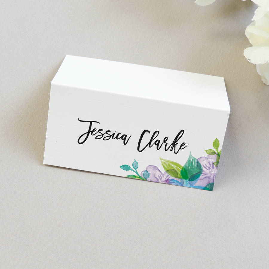 wedding name place card wedding place cards Wedding Place Name Cards Fayre