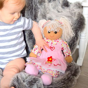 Personalised Rag Doll - gifts: under £25