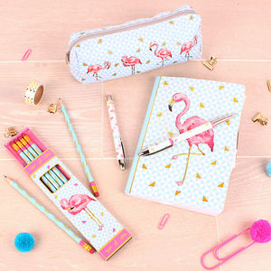 Tropical Flamingo Stationery Set - stationery