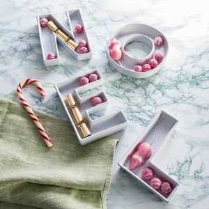 Ceramic Letter Dish - secret santa gifts