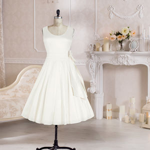 Ivory Charlotte Wedding Dress - women's fashion