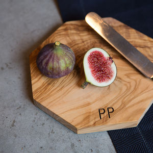 Personalised Initialed Cheese Board