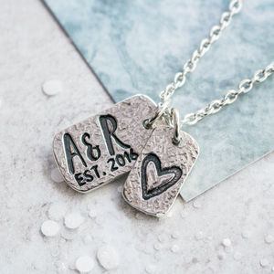 Personalised Anniversary Necklace
