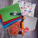 Happy Craft Bundle Kit For Sewing And Making