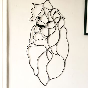 Lion Wire Wall Art