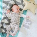 Cloud Baby Blanket And Cushion Gift Set
