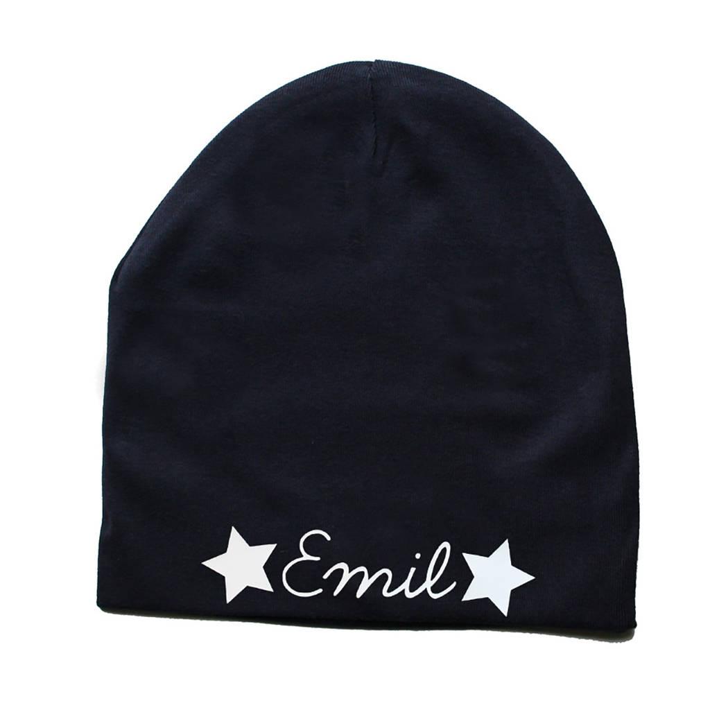 personalised baby hat by holubolu personalised childrens clothing ... 7fda8534ad2
