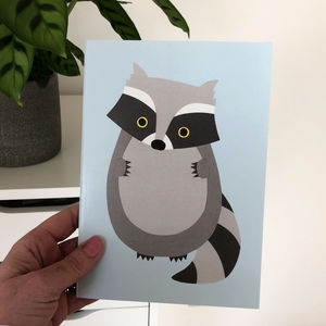 Raccoon Notebook