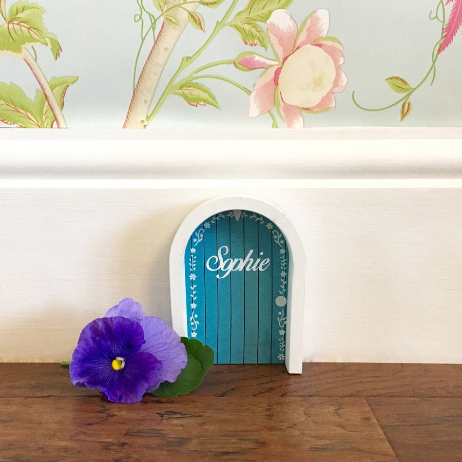 Personalised fairy door by pink pineapple home gifts for Original fairy door