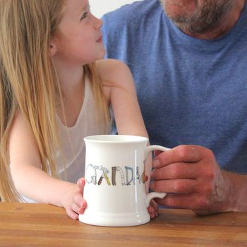 Personalised Ceramic Pint Tankard