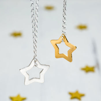Personalised Superstar Necklace