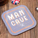Man Cave Two In One Bottle Opener Coaster