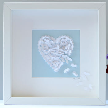 Butterfly Mother's Day Heart, Wedding Gift