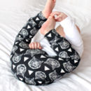 Monochrome Tiger Child And Baby Leggings