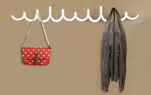 Double Pulse Coat Rack - furnishings & fittings