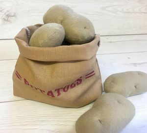 Pretend Play Felt Food Potatoes