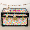 Bright Floral Tuck Box