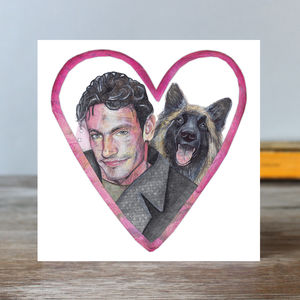 Gaffney And Wellard Eastenders Card