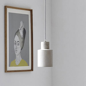 Concrete Pendant Light - ceiling lights