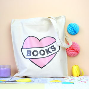Love Books Tote Bag - women's accessories sale