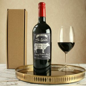 'Food Match' Personalised Malbec Wine - personalised