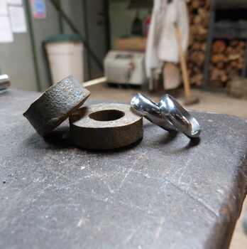 Make Two Hand Forged Wedding Rings At Oldfield Forge