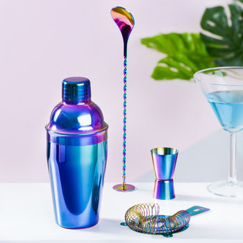 Metallic Cocktail Making Set